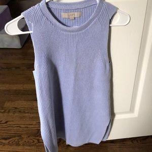 Loft sweater tank - XS